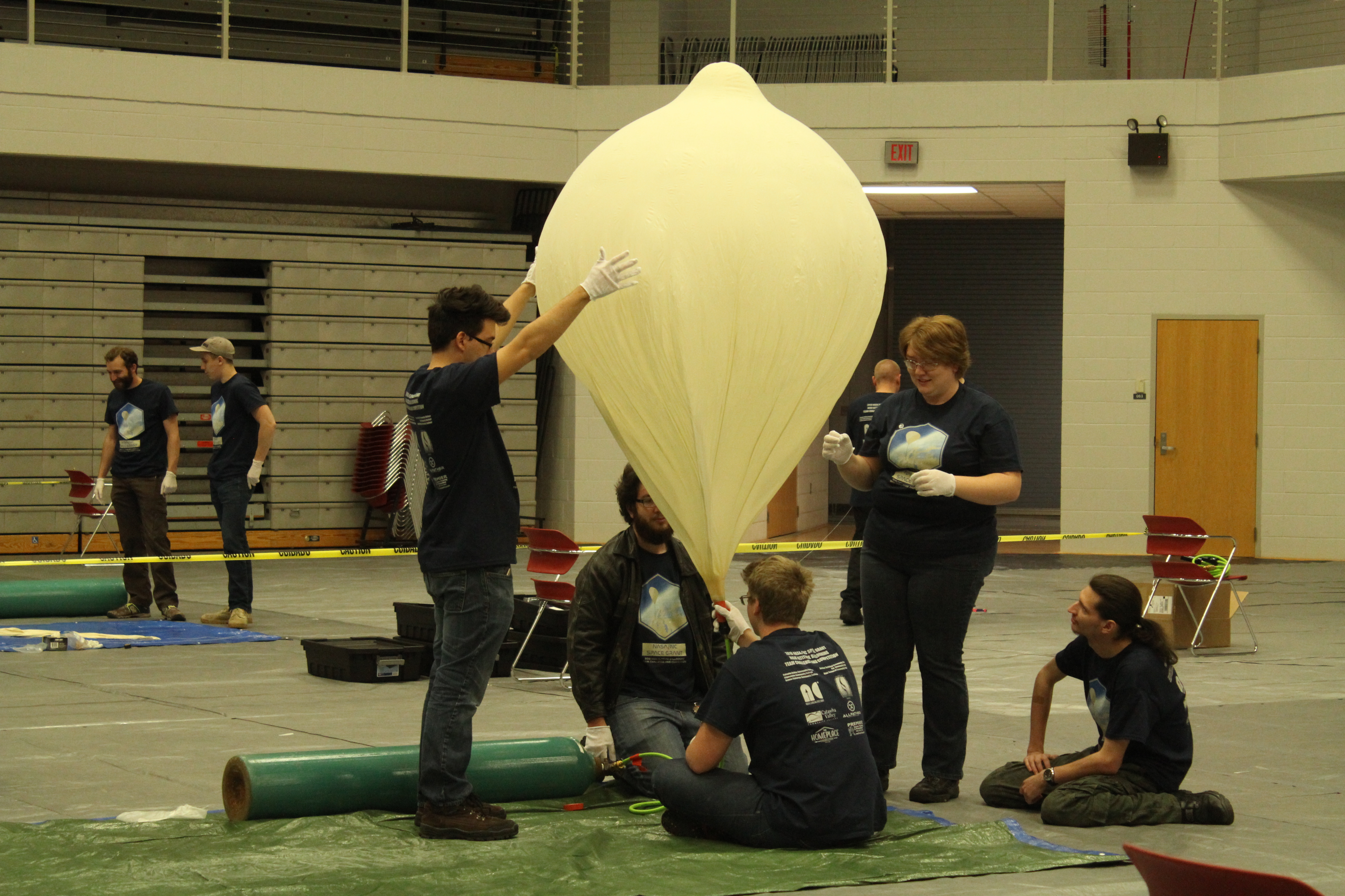 the 2018 Community College High Altitude Ballooning