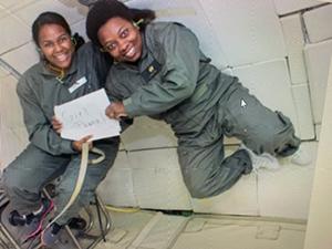 NASA Glenn scientist Nancy Hall