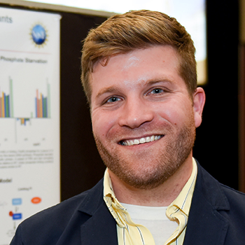 Eric Land, doctoral candidate, plant and microbial biology, NC State University