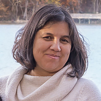 Marcela Rojas-Pierce, Ph.D., principal investigator, research professor, plant and microbial biology, NC State University